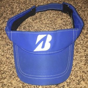 Bridgestone Golf Blue Visor